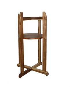 Giá đỡ bình nước lavie bằng gỗ