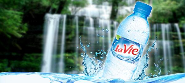 3 không khi sử dụng nước khoáng Lavie