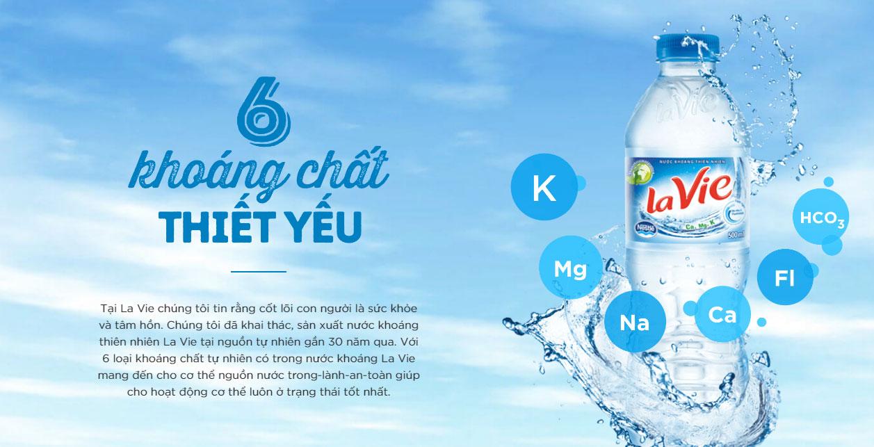 Vị trí số 1 loại nước khoáng tốt nhất hiện nay