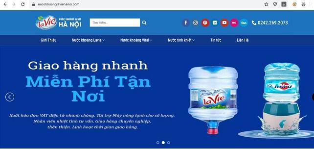 Đại lý nước khoáng Lavie uy tín TOP 1 tại Thanh Xuân