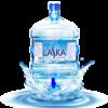 Nước uống tinh khiết Laska có vòi