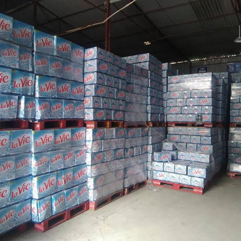 Giao nước uống tận nhà tại Hà Nội